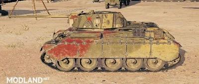 """T-34 Remodel """"T34/E"""" 5.0 [1.0.2.3]"""